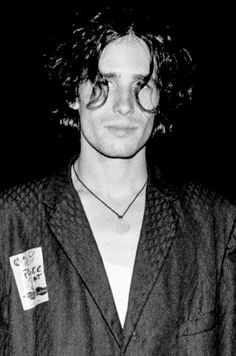 Jeff Buckley photographed by Bertrand Brosrédon for Le Front de Libération du Rock, Belfort, July 1995.