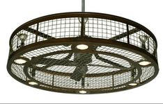 Gallery For > Industrial Ceiling Fans With Light