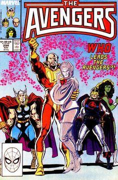 Avengers # 294 by John Buscema & Tom Palmer