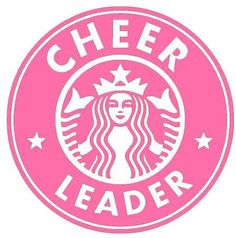 'Starbucks logo revamped ' Sticker by Jacqueline Simpson Starbucks Logo, Pink Starbucks, Starbucks Quotes, Starbucks Drinks, Cheerleading Quotes, Cheer Quotes, Cheerleading Bedroom, Cheerleader Girls, Cheerleading Crafts