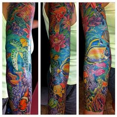 Coral Tattoo Outline Ocean life and coral reefs
