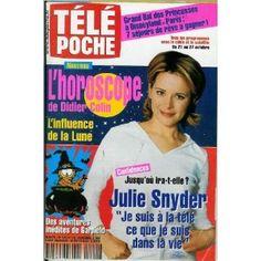 Télé Poche (n°1810) du 16/10/2000 - Julie Snyder - Vanessa Paradis - Fiches Pokémon - Movie Stars - Danny Boon - Anne Jacquemin - Christian Morin - Eminem - Didier Sustrac - ... [Magazine mis en vente par Presse-Mémoire]