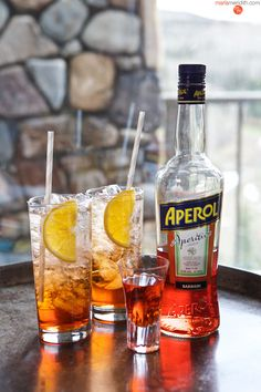 Aperol Spritz | A refreshing Aperitif #cocktail from Italy! MarlaMeridith.com ( @marlameridith )