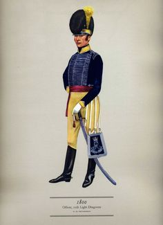 British Officer 11th Light Dragoons by PH Smitherman