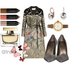 Spring nude colors by fineid on Polyvore featuring moda, Valentino, Marc Jacobs, Pomellato, Dolce&Gabbana and H&M