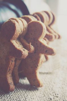 Butter-less and #GlutenFree Gingerbread Men