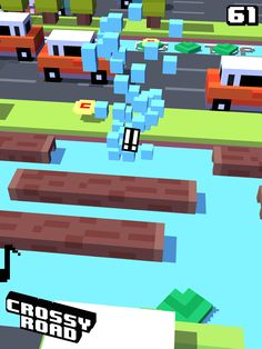 61 on #crossyroad. My top is 66.