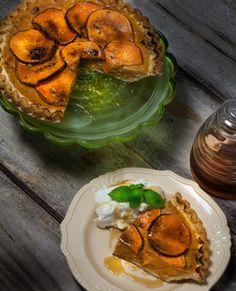 Sweet Potato Pie Brûlée with Bourbon Crème