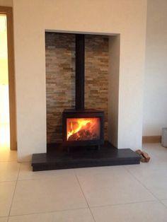 Wood burning stove - no surround