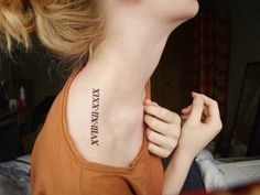 Funny Number Tattoo Designs (5)