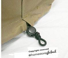 HomeStore Global Grand Housse de protection pour salon de jardin – 220 (l) X 200 (p) X 92(h)cm – Épais et de haute qualité durable 600D…