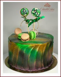 Торт к 23 февраля `Brutal cake for men`