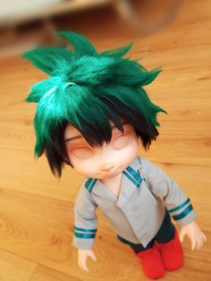 Izuku process~ wig finished !