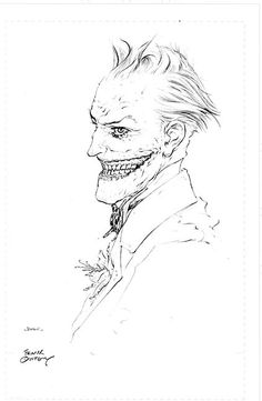 Just when I think I've seen the coolest pic of the Joker, I come across another!  This looks so demented.