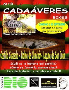 Mtb Cadaáveres - Bike : Ruta al Castillo de Casasola.