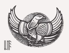High Tech Gadgets in Today's Life Falcon Tattoo, Raven Tattoo, Slavic Tattoo, Animal Symbolism, Viking Tattoos, Celtic Art, Leather Pattern, Celtic Designs, Chest Tattoo