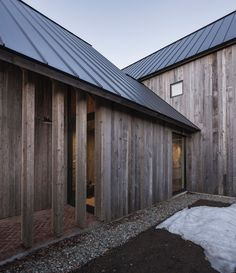 In the eastern townships of Quebec, the courtyard configuration for barns has been used since the mid 19th century for convenience of access and for shelter ...