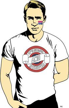 steve rogers bisexual - Bing images