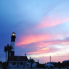 Sunset on Tybee Island • Visit Savannah
