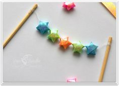 Star Wedding Cake Bunting / Mini Bunting / by PaperButterfliesM