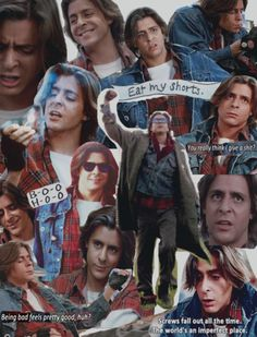 The Breakfast Club Judd Nelson in this movie = yummy