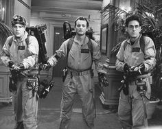 Bill Murray, Dan Aykroyd and Harold Ramis in action as Ghostbusters! Poster Unique inch poster on archival paper. Only from Silver Screen. Will look stunning in your home or office Bill Murray, Dan Aykroyd Ghostbusters, Ghostbusters Movie, Original Ghostbusters, Iconic Movies, Great Movies, Classic Movies, Amazing Movies, 80s Movies