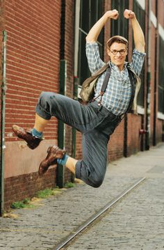 Because Ryan Steele can click his heels...and because you can never have enough Specs in your life.