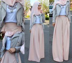 Pants / Hose / Pantolon - @hazanahstore Jacket / Jacke / Ceket - Bershka Hijab / Kopftuch / Basörtü - www.misselegance.de Top - Zara