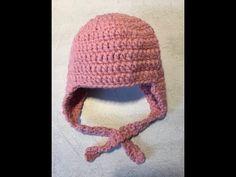42daf974211 Tuto bonnet avec cache oreille au crochet · Bonnet Enfant CrochetAlextitia  TutoBonnet BébéCrochet BébéTricot ...
