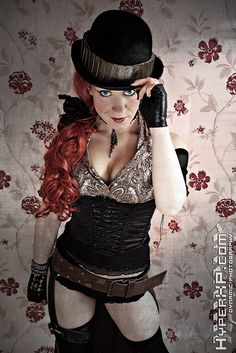 Sexy Steampunk Girls : Tink & Floz :  2 by HyperXP.com, via Flickr