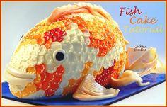 dd6b163d0240 Торт Золотая рыбка. Мастер класс