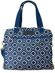 "Amazon.com : Sarah Wells ""Lizzy"" Breast Pump Bag (Navy) : Baby"