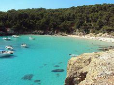 Cala Escorxada, Minorque - îles Baléares (Espagne)