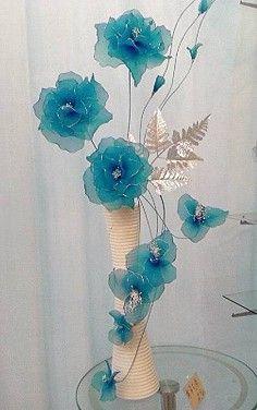 Las flores de seda