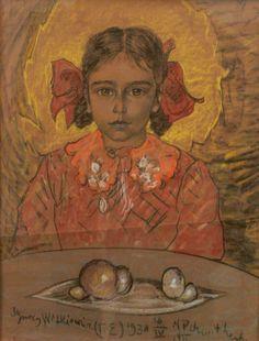 Girl's portrait, 1938 - Witkacy