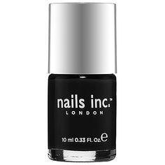 nails inc, LONDON BLACK TAXI (patent Black) .33 oz Full Size, NEW >>> Visit the image link more details.