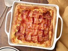 Bacon Lattice Breakfast Pie