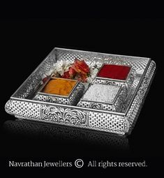 Silver Lamp, Silver Trays, Silver Accessories, Silver Jewelry, Wooden Temple For Home, Silver Pooja Items, Indian Wedding Couple Photography, Pooja Room Door Design, Silver Ornaments