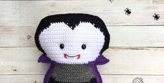 Vampire Amigurumi Free Crochet Pattern • Spin a Yarn Crochet