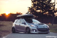 Take a look at the Gray Mazda 3 Goes Low and Gets Custom Body Kit photos and go back to customizing your vehicle with renewed passion. Mazda Hatchback, Mazda 3 Hatch, Mazda Mps, Mazda 3 Speed, Custom Body Kits, Holden Colorado, Jdm Wallpaper, Chevrolet Cruze, Top Cars