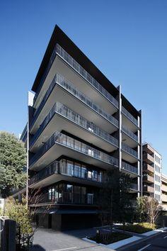 Building Elevation, Building Exterior, Building Facade, Architecture Sketchbook, Brick Architecture, Facade Design, House Design, Small Loft Apartments, Commercial Design