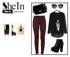 """Untitled #216"" by minna-998 ❤ liked on Polyvore featuring J Brand, Yves Saint Laurent and Chanel"