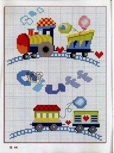 Baby Cross Stitch Patterns, Cross Stitch For Kids, Cross Stitch Baby, Cross Stitch Charts, Baby Knitting Patterns, Cross Stitch Designs, Cross Stitching, Cross Stitch Embroidery, Embroidery Patterns