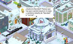 Navidad Los Simpson Springfield 4.6.0.