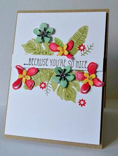 The Stamping Shed: Stampin' Up! Botanical bloom, builder, Gardens