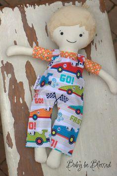 Handmade dolls with scripture!  http://www.babybeblesseddolls.com