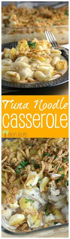Tuna Noodle Casserole from EricasRecipes.com