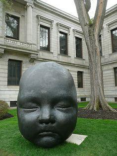 "Antonio Lopez Garcia ""Day and Night"" bronze Modern Sculpture, Bronze Sculpture, Garden Sculpture, Museum Of Fine Arts, Various Artists, Decorative Items, Spanish, That Look, Artsy"