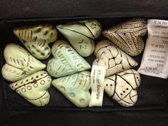Great idea for next semester!  Pottery hearts