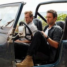 Hawaii Five-0. Steve/Danno in the setting for their many carguments.